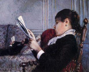 Gustave_Caillebotte_Intérieur_femme_lisant